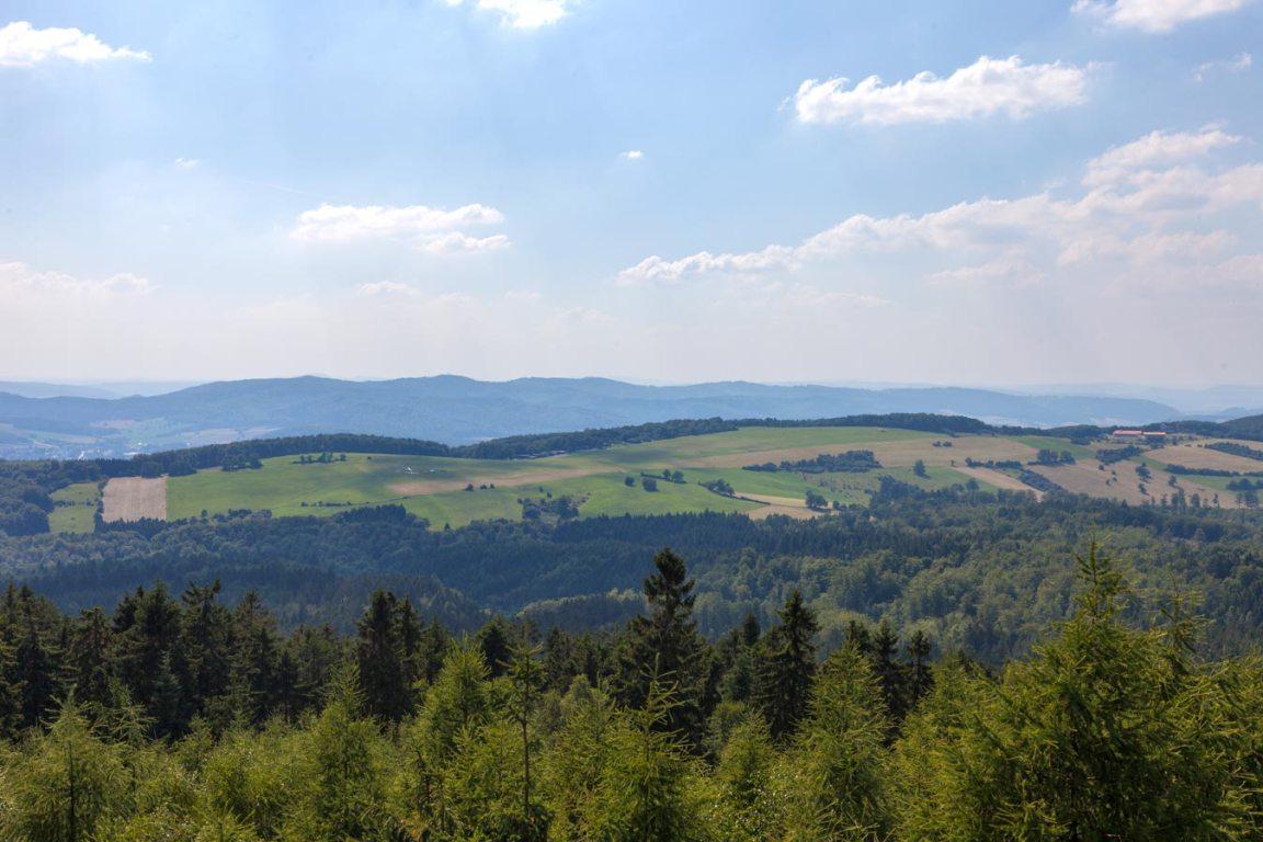 Ausblick Ith-Hils-Weg