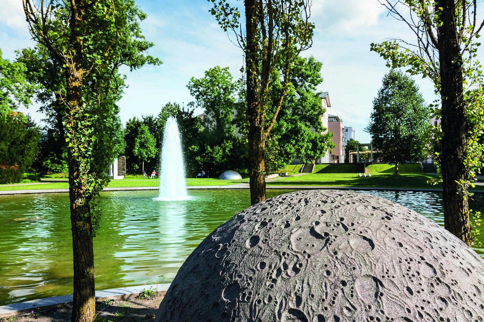 Wieland-Park in Biberach an der Riß