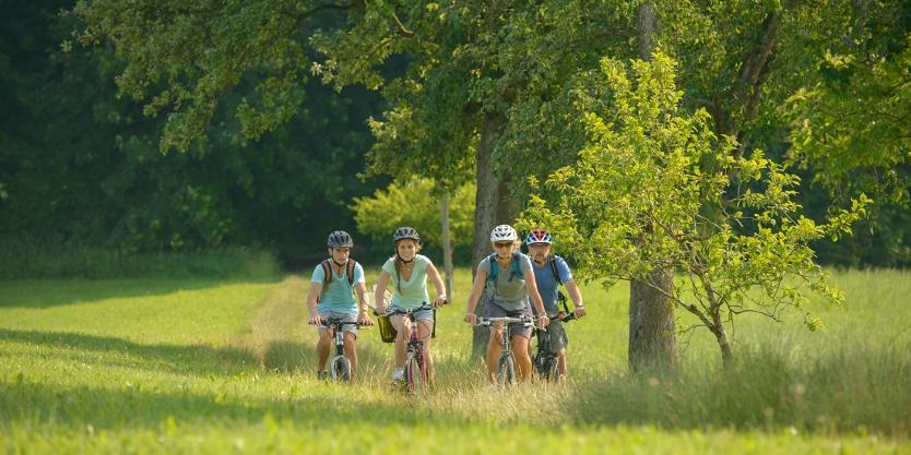Donau-Bodensee-Radweg, Etappe 1 © Oberschwaben Tourismus GmbH, Frank Müller