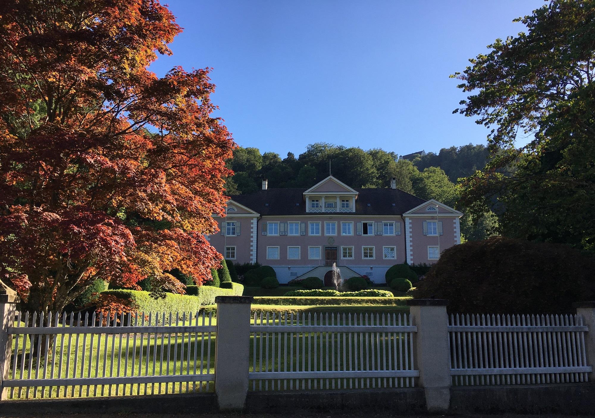 Schloss Bodman mit Schlosspark