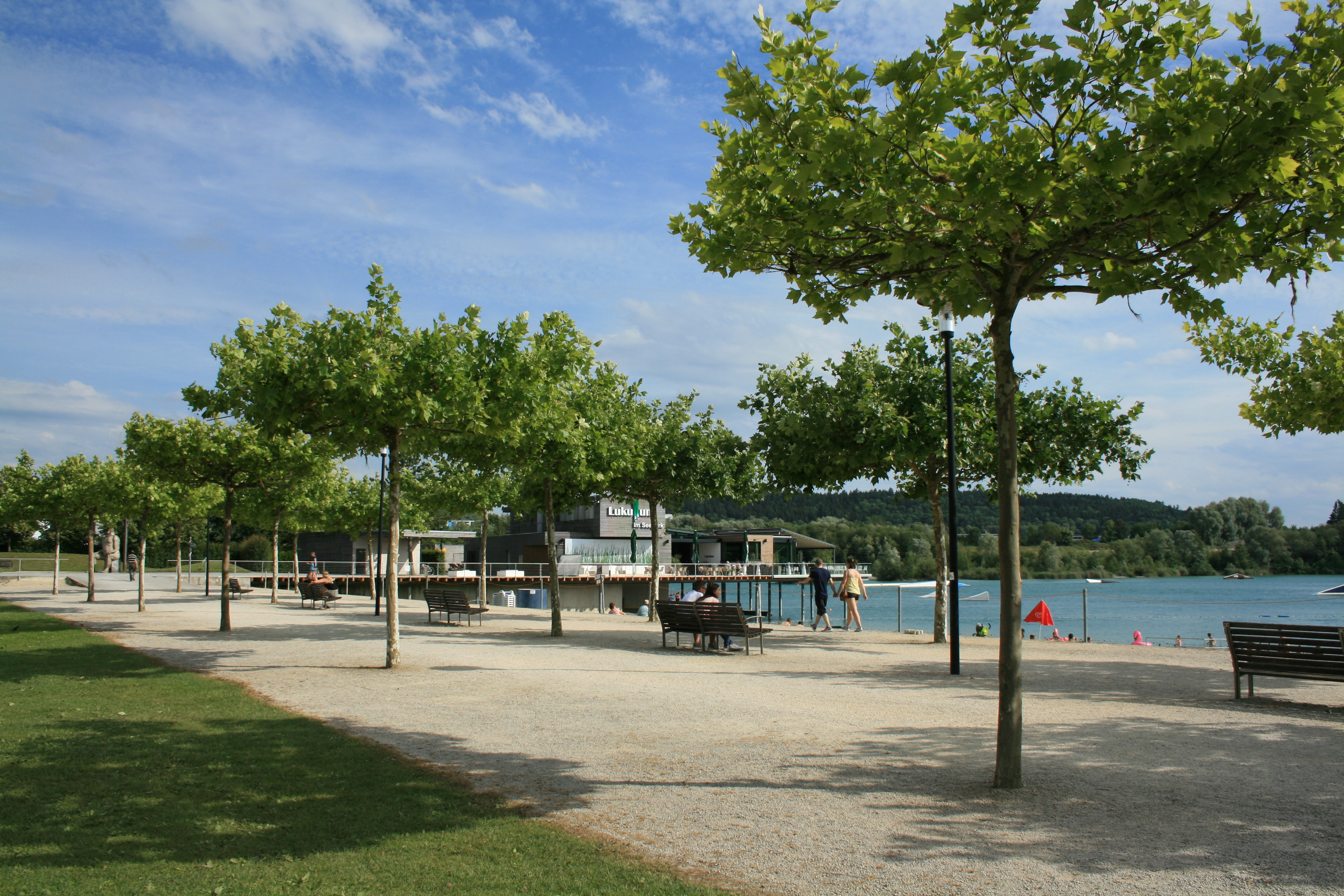 Promenade im Seepark