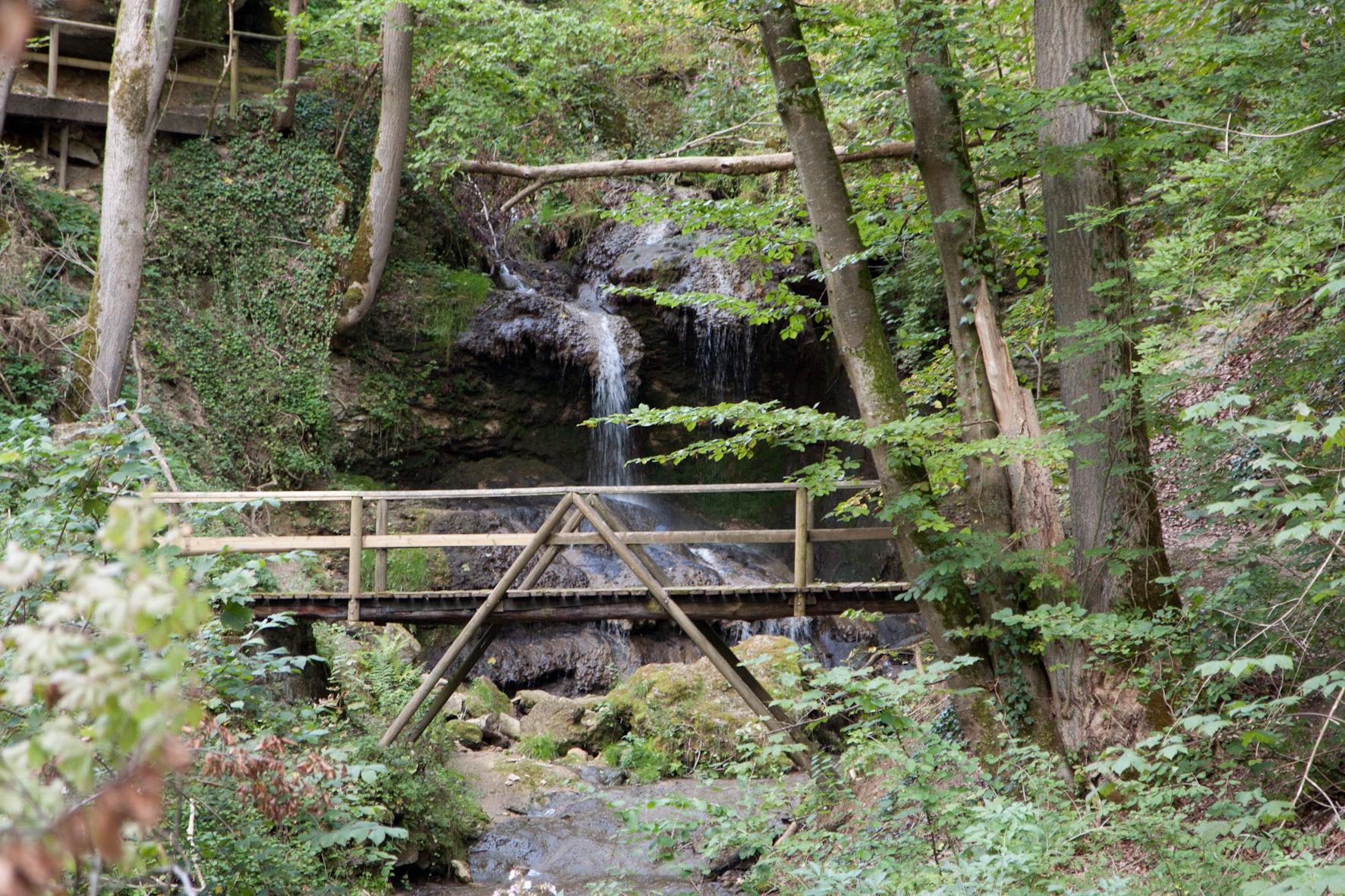 Mühlbachschlucht mit Brücke