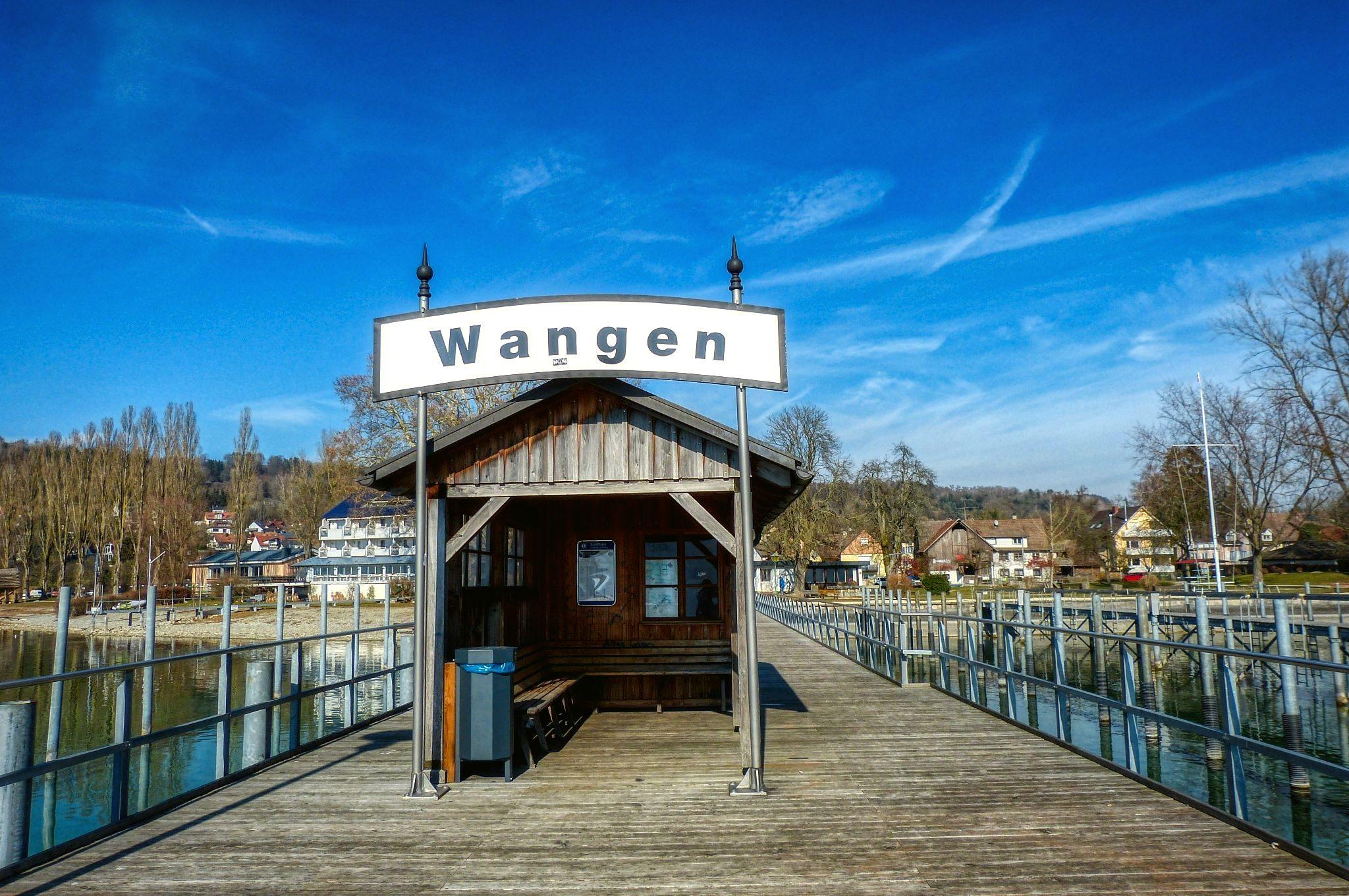 Wangen - Steg - Schild