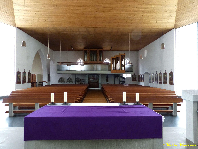 2016 - Kirche Orgel