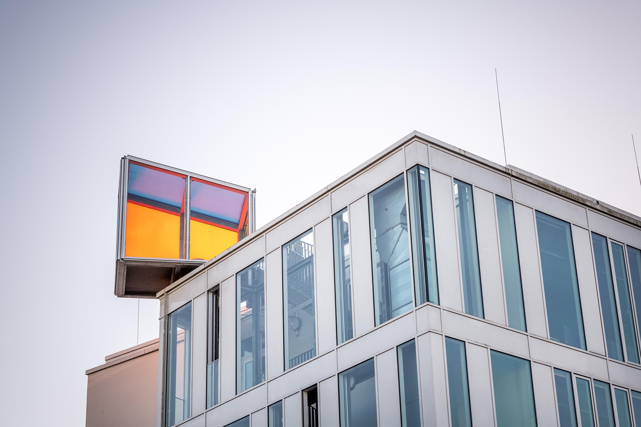 Lichtraum L-Gebäude der HTWG