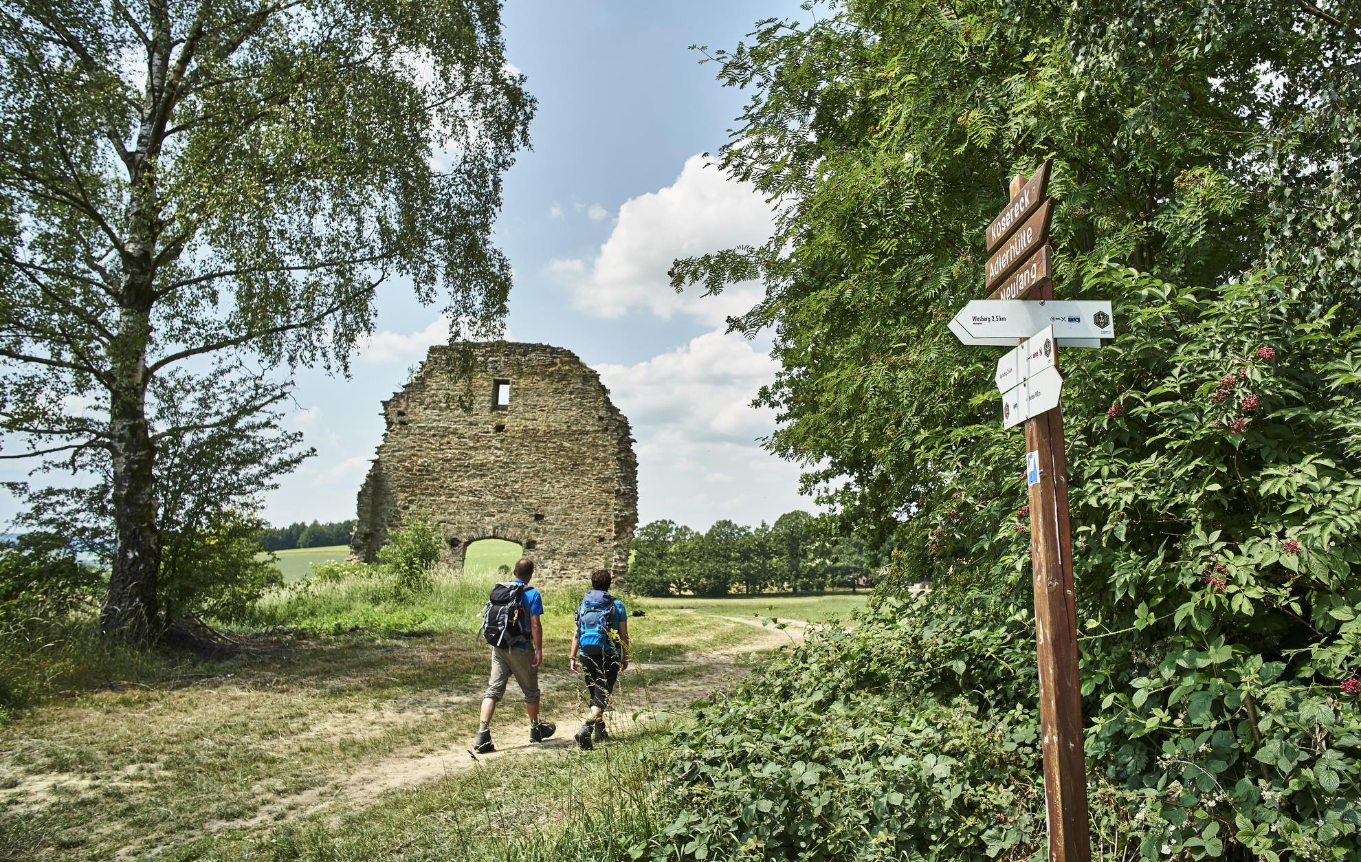 An der Ruine Heilingskirche