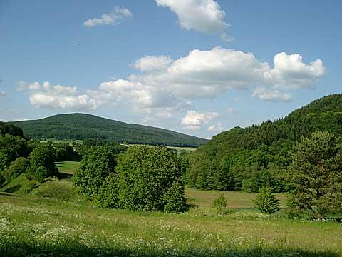 Landschaft Kellerwaldsteig