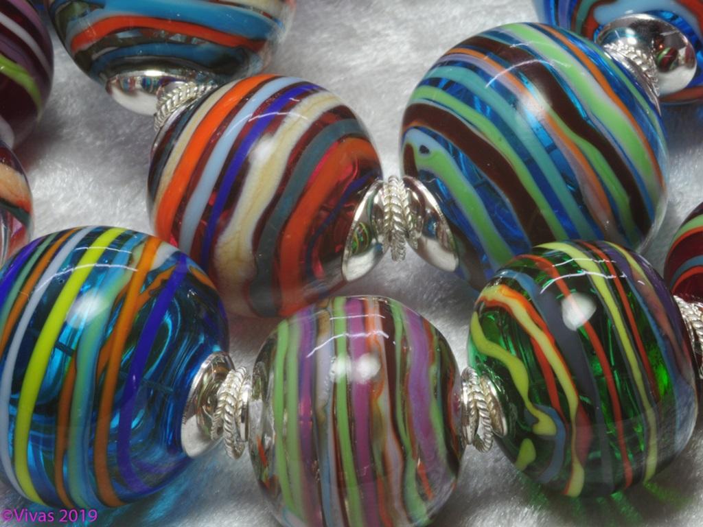 Glasperlenkette - Eine unendliche Vielfalt an Farben und Formen