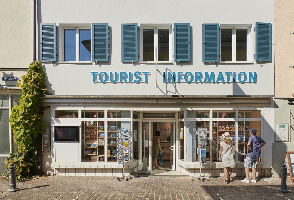 Aussenansicht der Tourist-Information