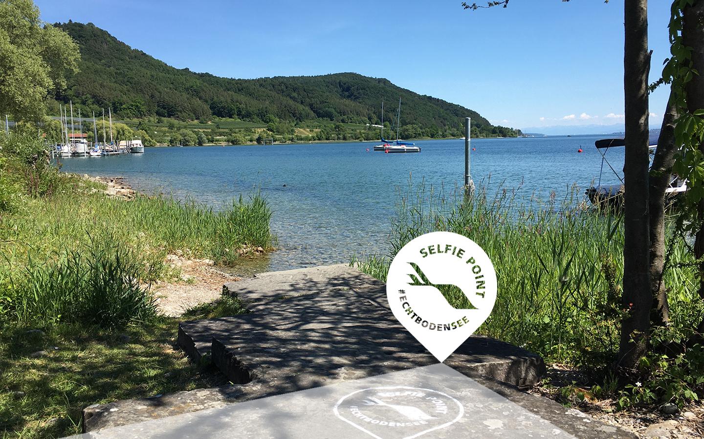 Selfie-Point Uferanlage Ludwigshafen