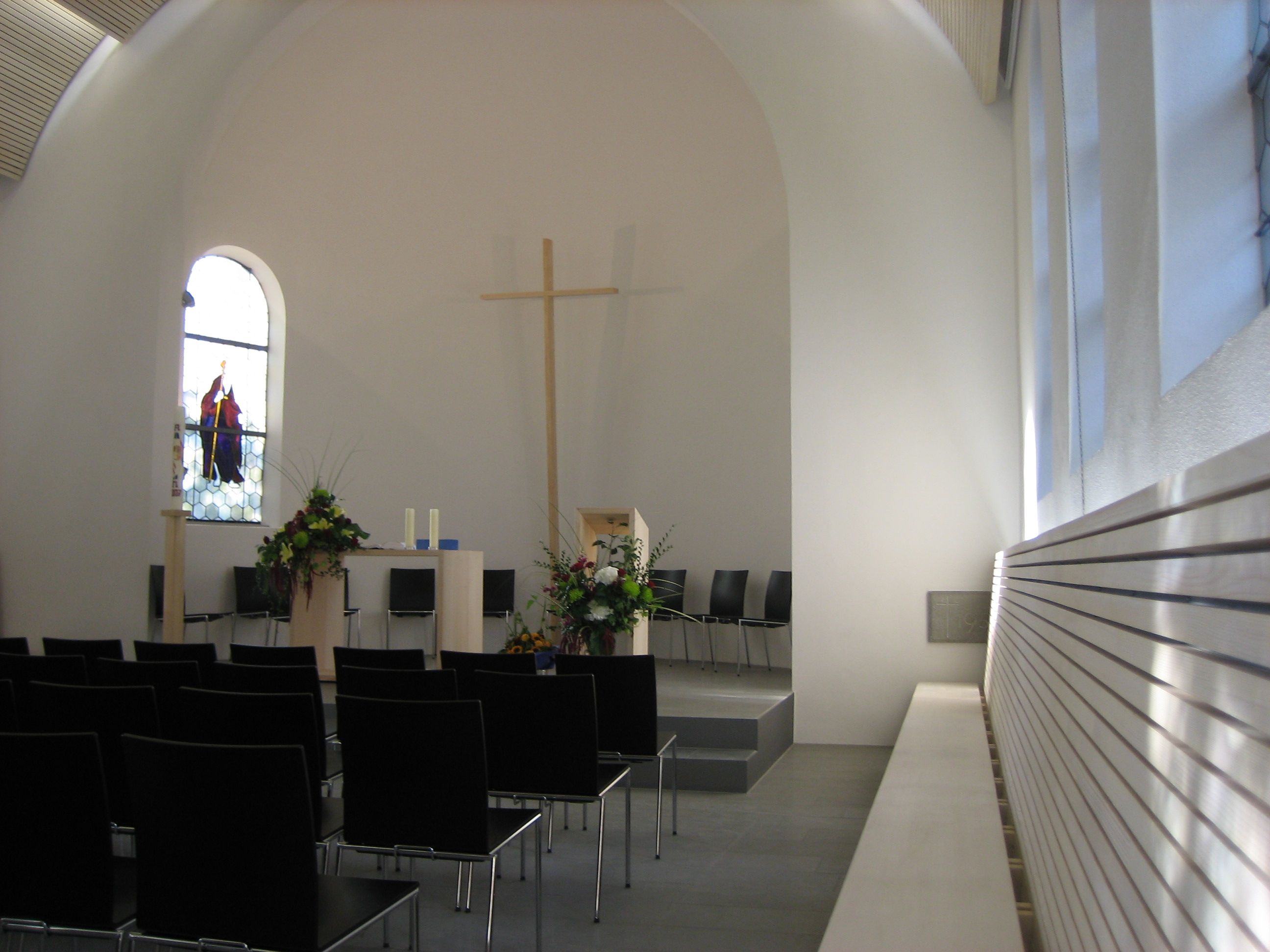 Räumlichkeiten der Friedenskirche