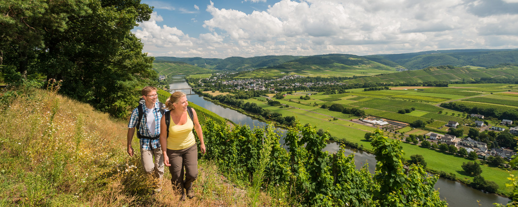 Moselsteig -Brauneberg