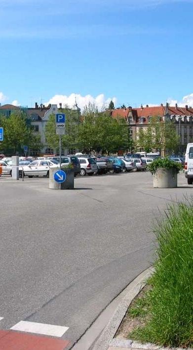 Parkplatz Döbele Stadt Konstanz