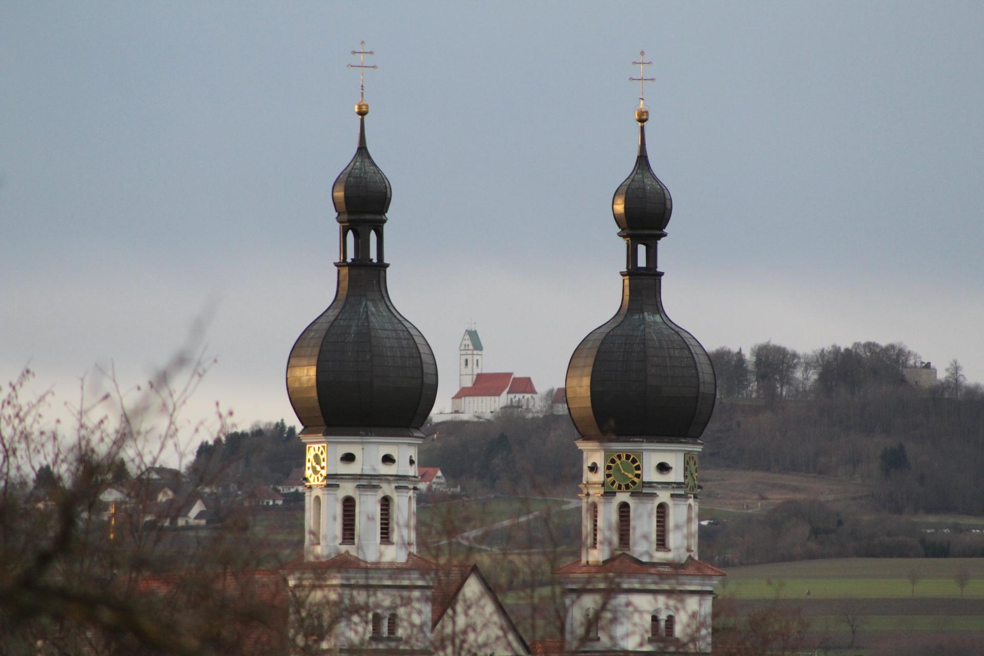 Zwiebeltürme Uttenweiler