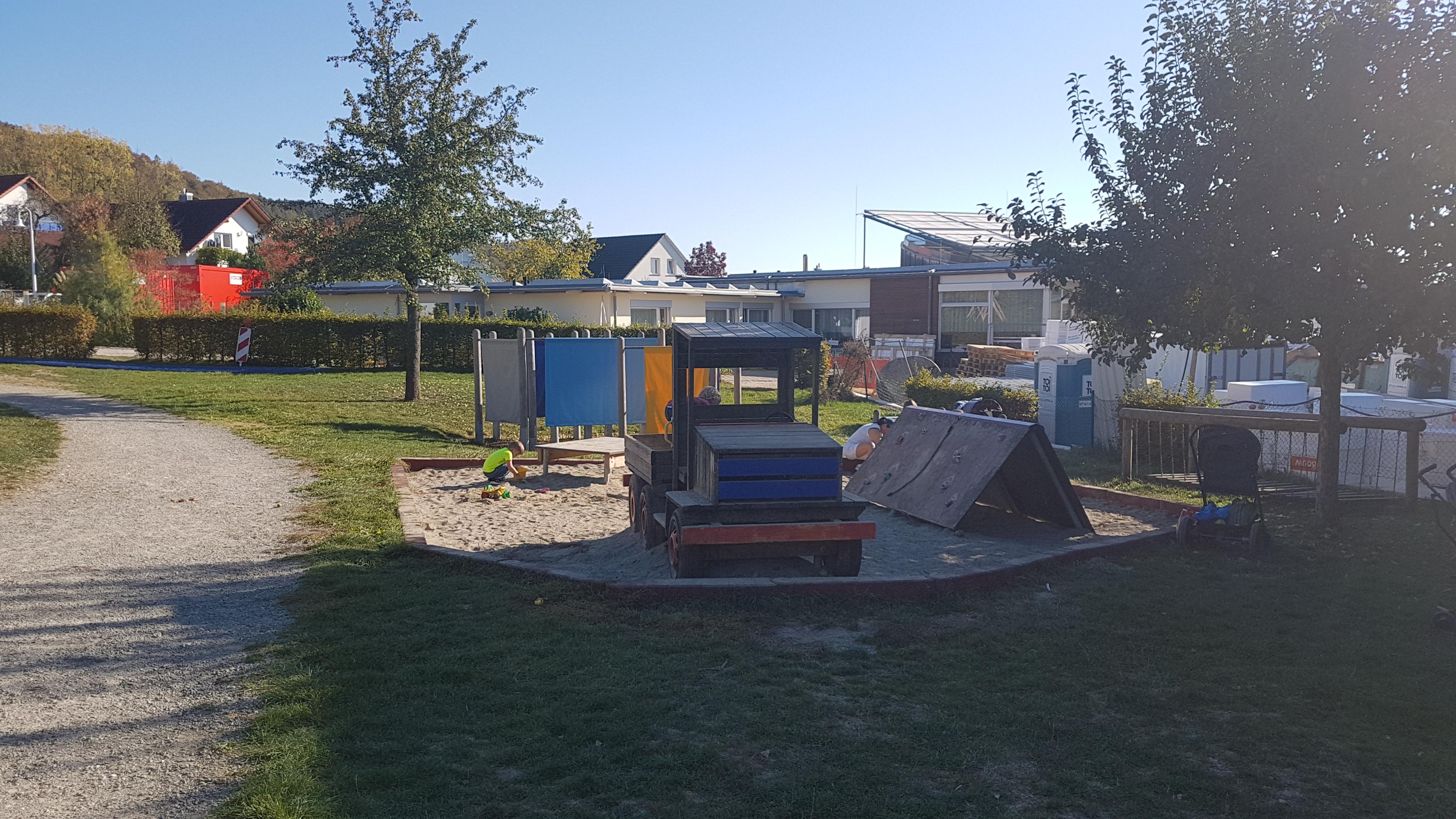 Spielplatz am Rehmenbach/Helianthum