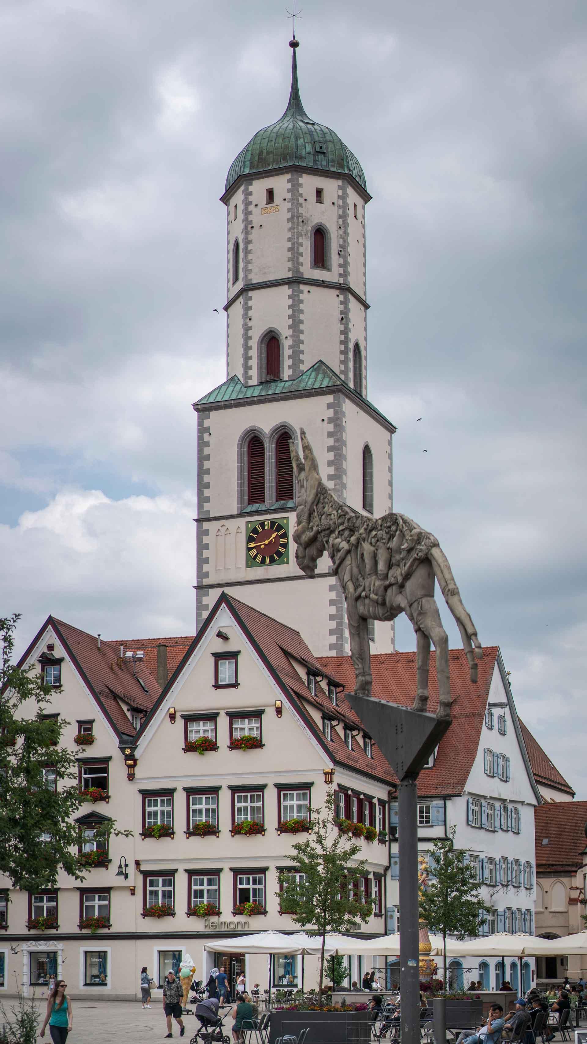 Barocke Simultankirche in Biberach