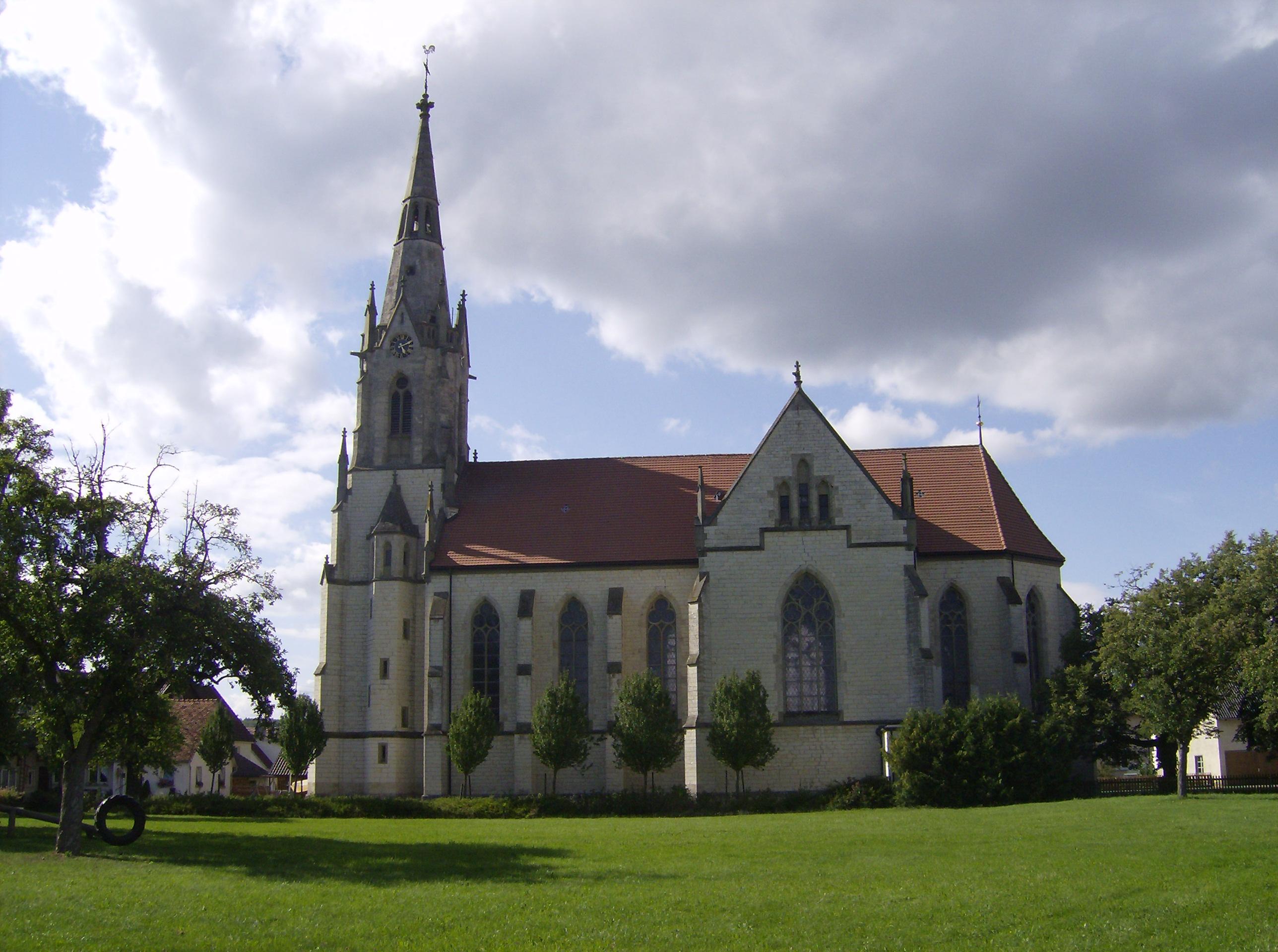 Kath. Kirche in Imzigkofen-Vilsingen