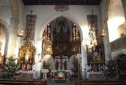Kirche Blumenfeld St. Michael von innen