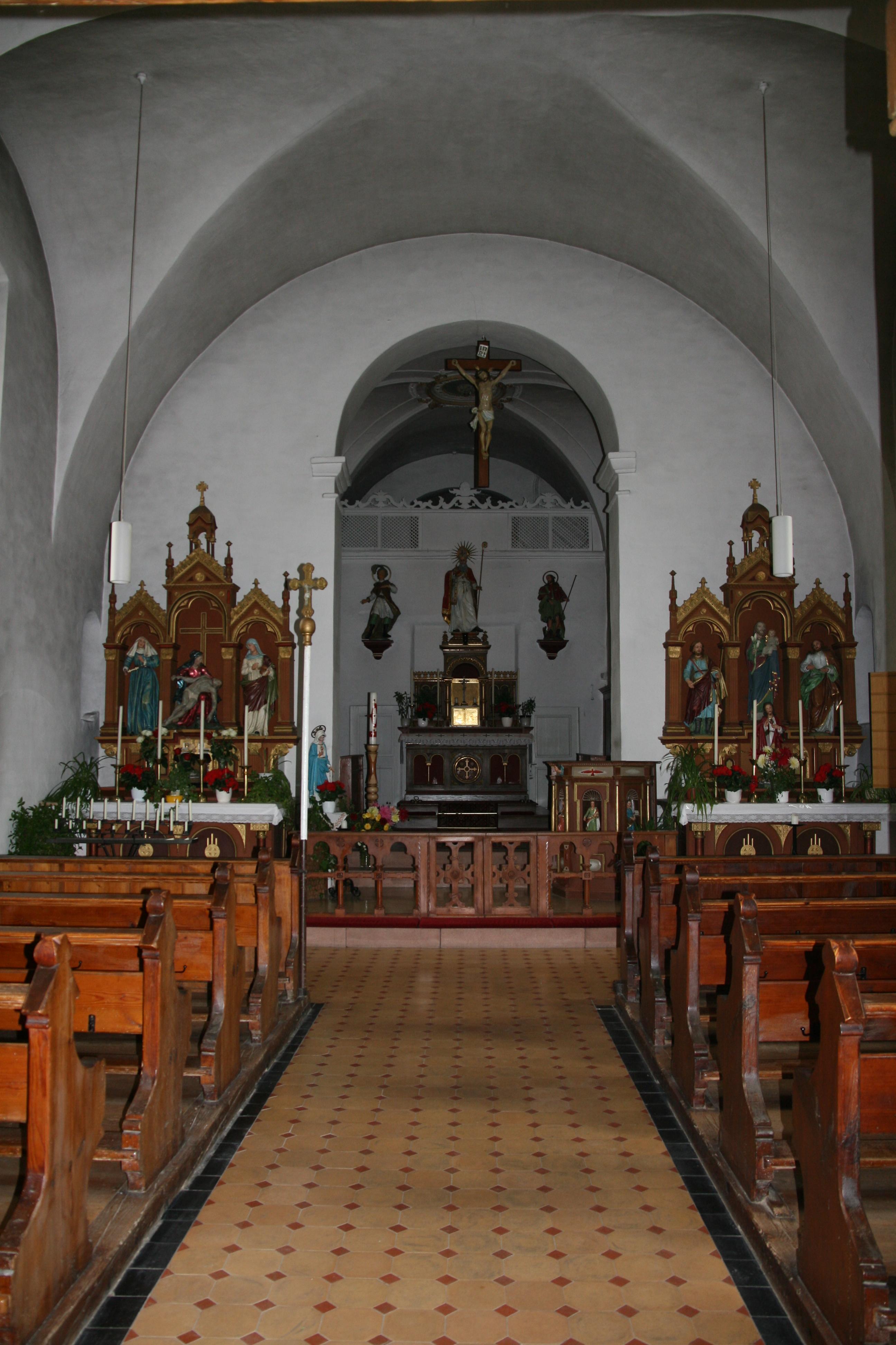 Räumlichkeiten der St. Konrads Kapelle