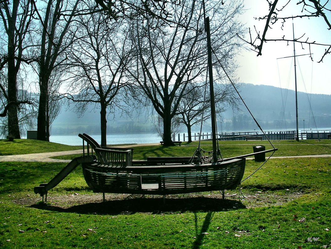 Spielschiff in Wangen am See