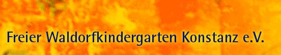Freier Waldorfkindergarten e V