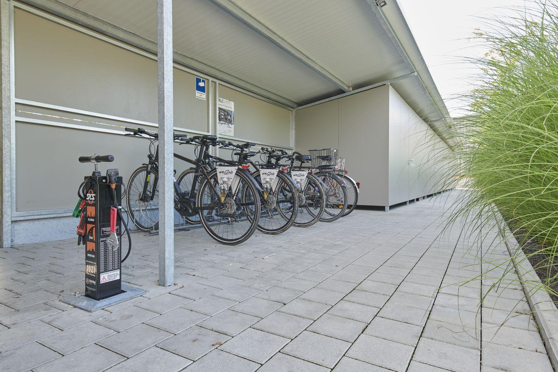 Verleih- und Ladestation für E-Bikes