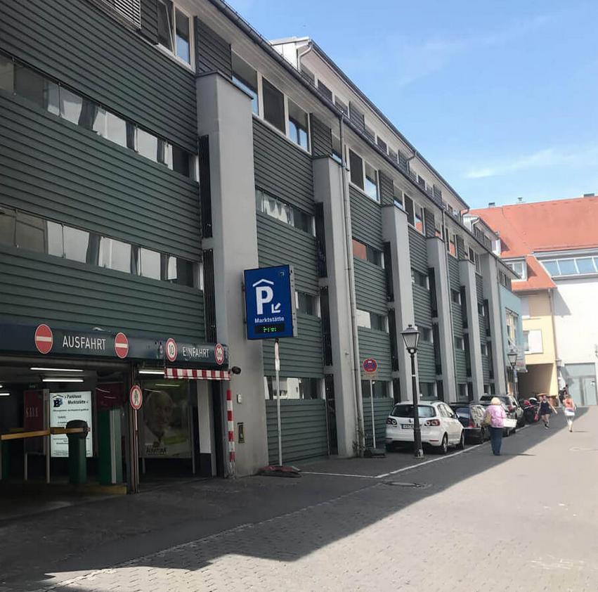 Parkhaus Marktst tte