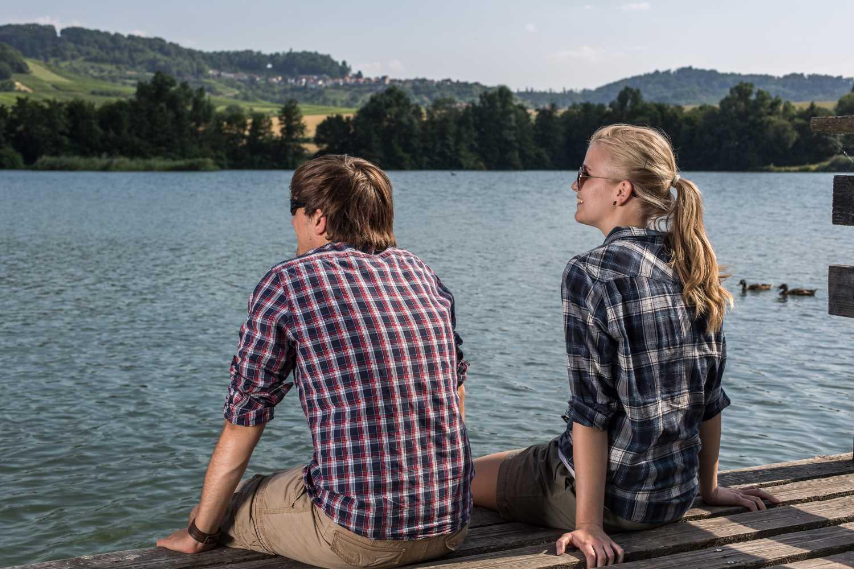 HeilbronnerLand Wandern Pause