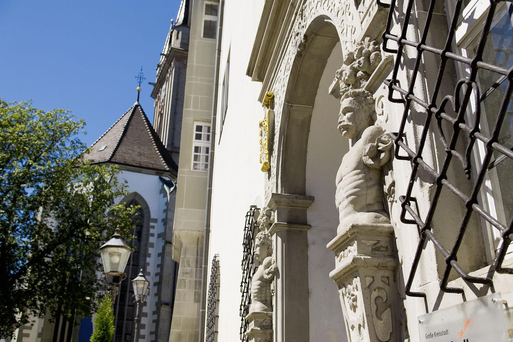 Eingang des Österreichischen Schlösschens