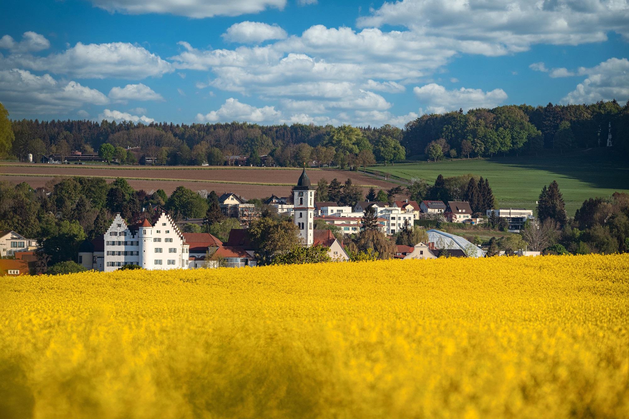 Stadtansicht Aulendorf