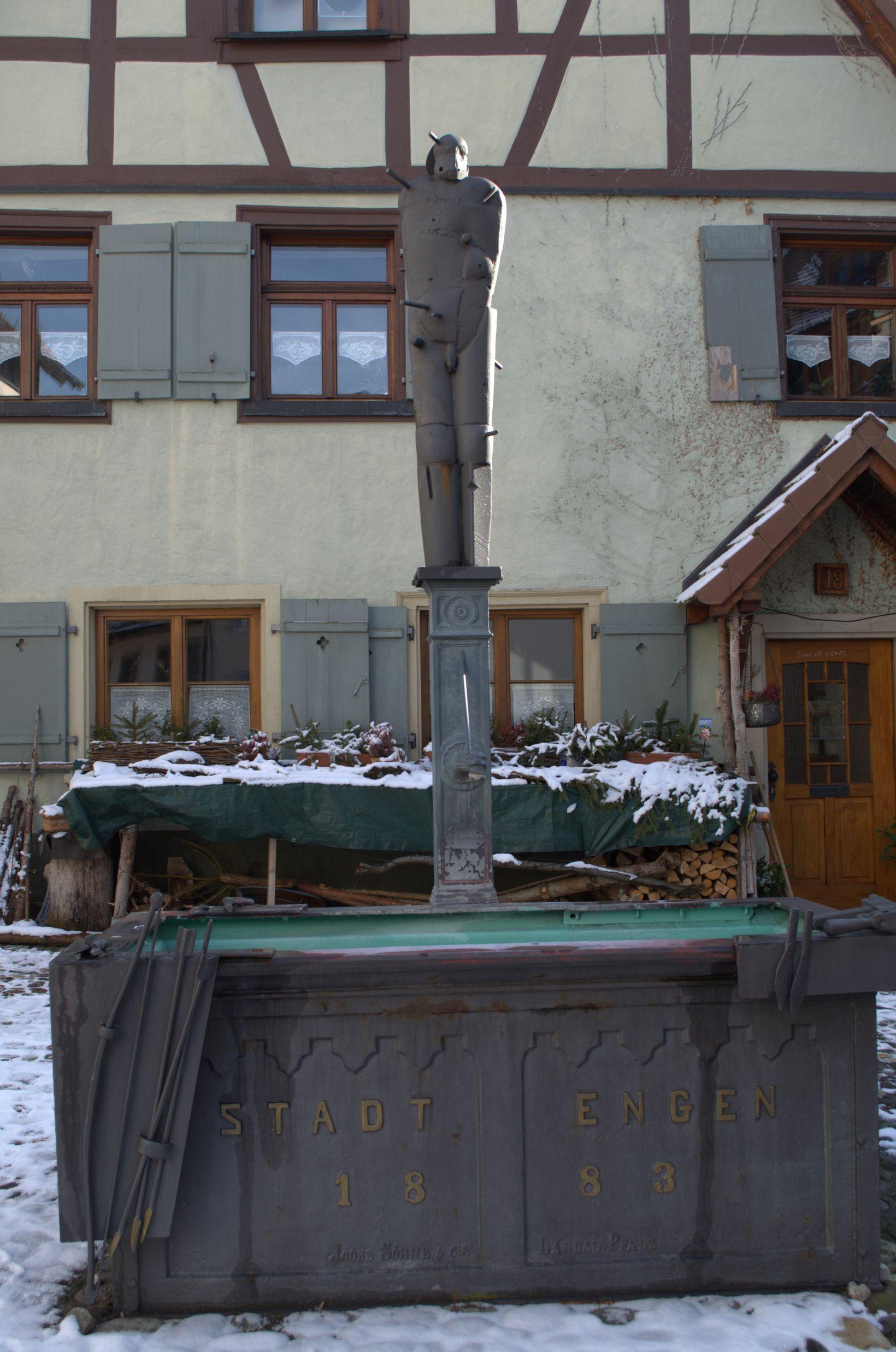 Sebastiansbrunnen in der Lupfenstraße