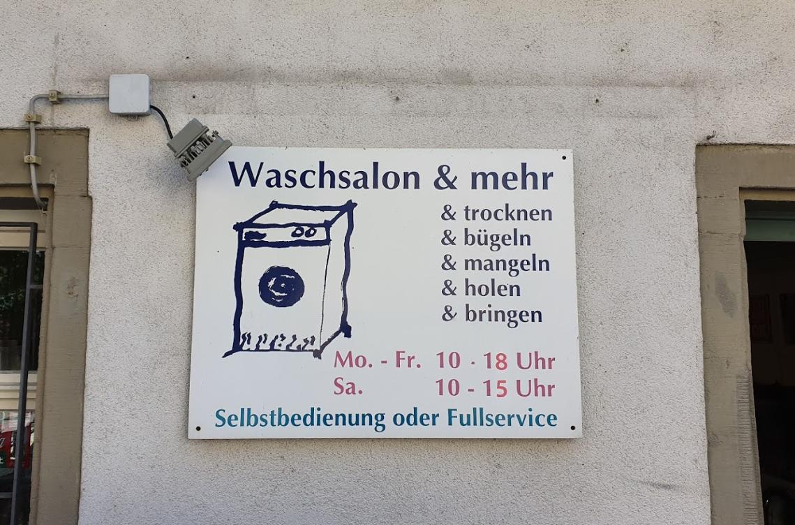 Waschsalon mehr