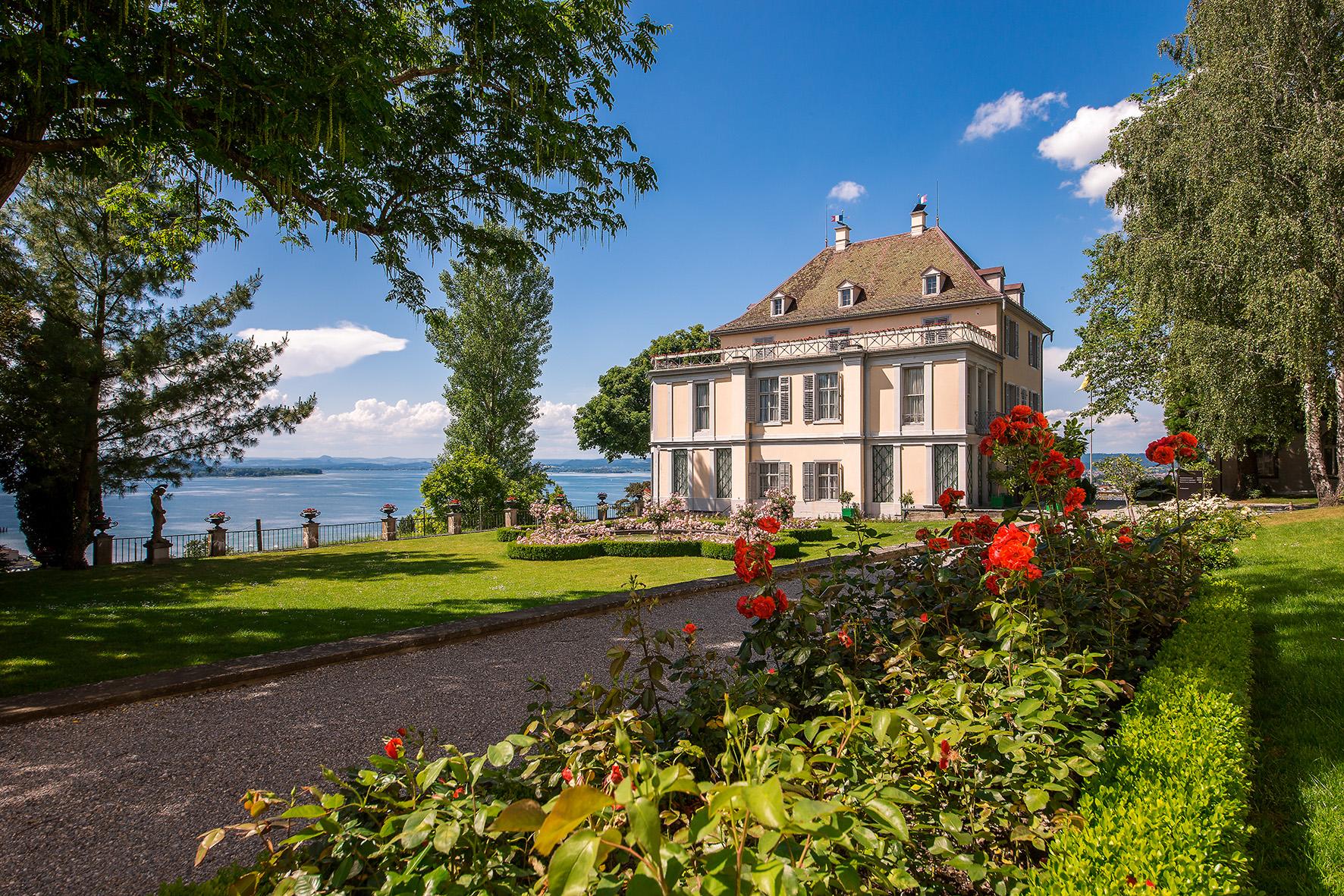 Schloss Arenemberg, 15x10cm 300dpi, Nachweis Bodenseegärten (19)