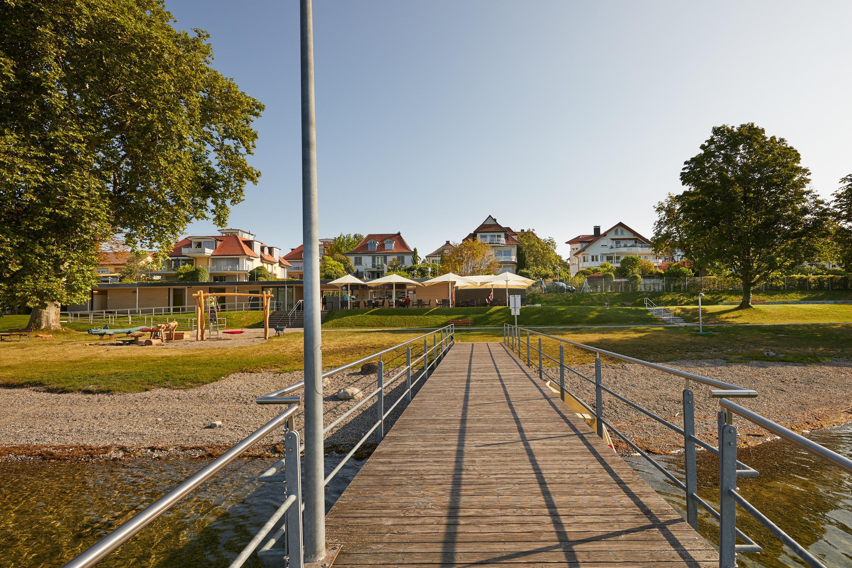 Seebad Mettnau, Blick vom Steg