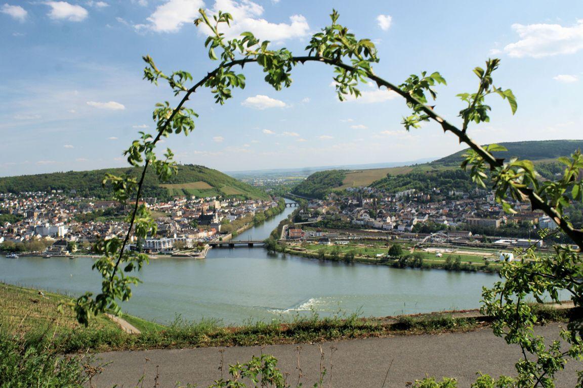 Nahemündung Bingen am Rhein