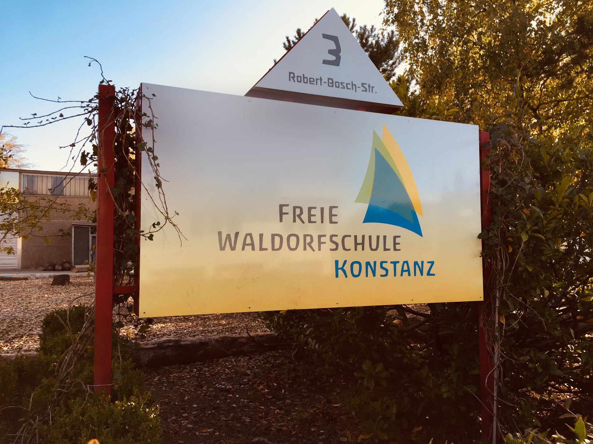 Waldorfschule Schulschild web
