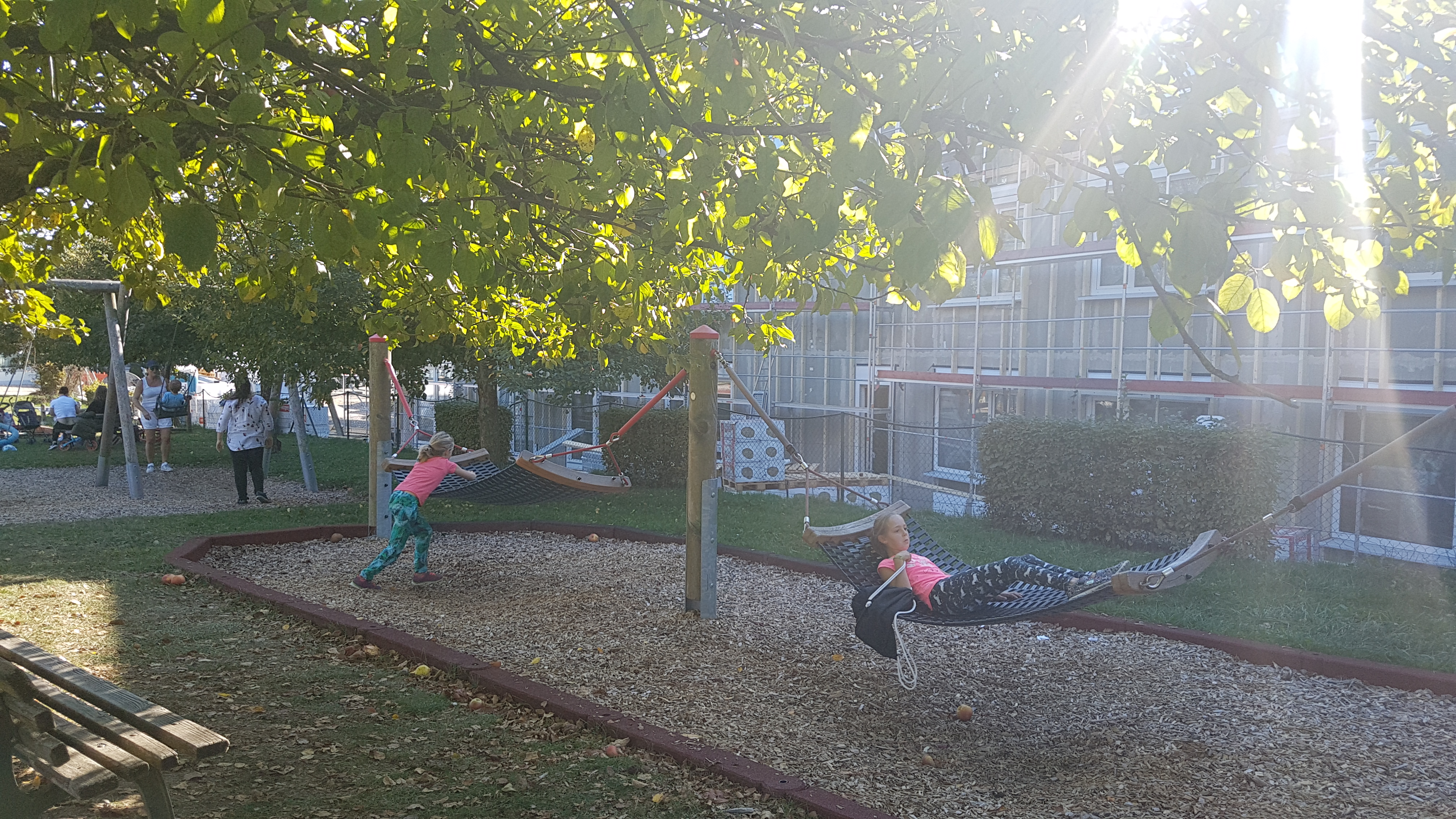 Spielplatz am Rehmenbach / Helianthum