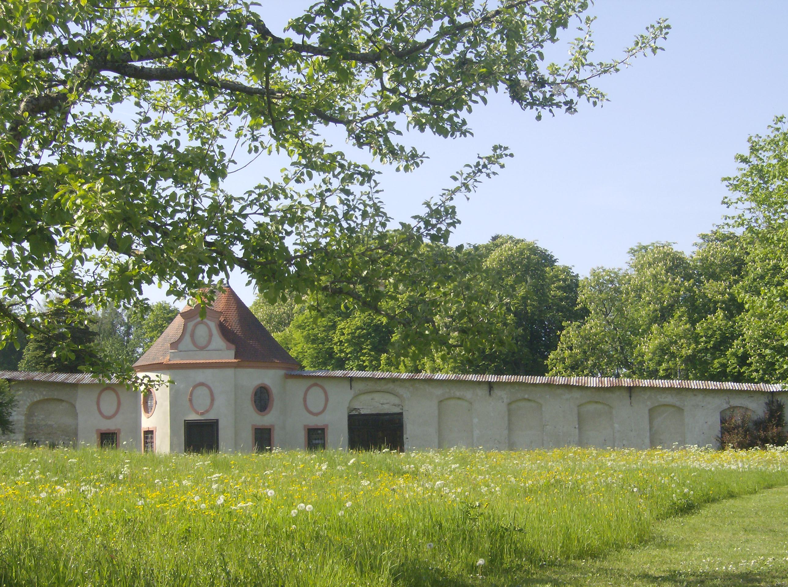 Klostermauer in Inzigkofen