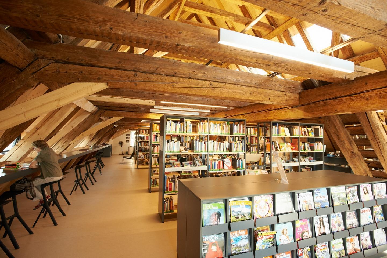 Leselounge in der Stadtbibliothek Radolfzell