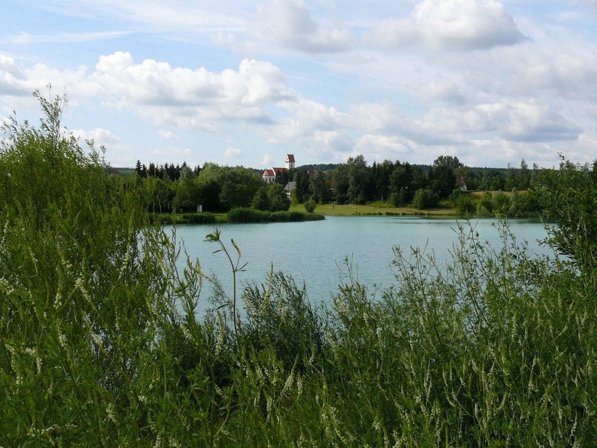 Badesee in Alberweiler