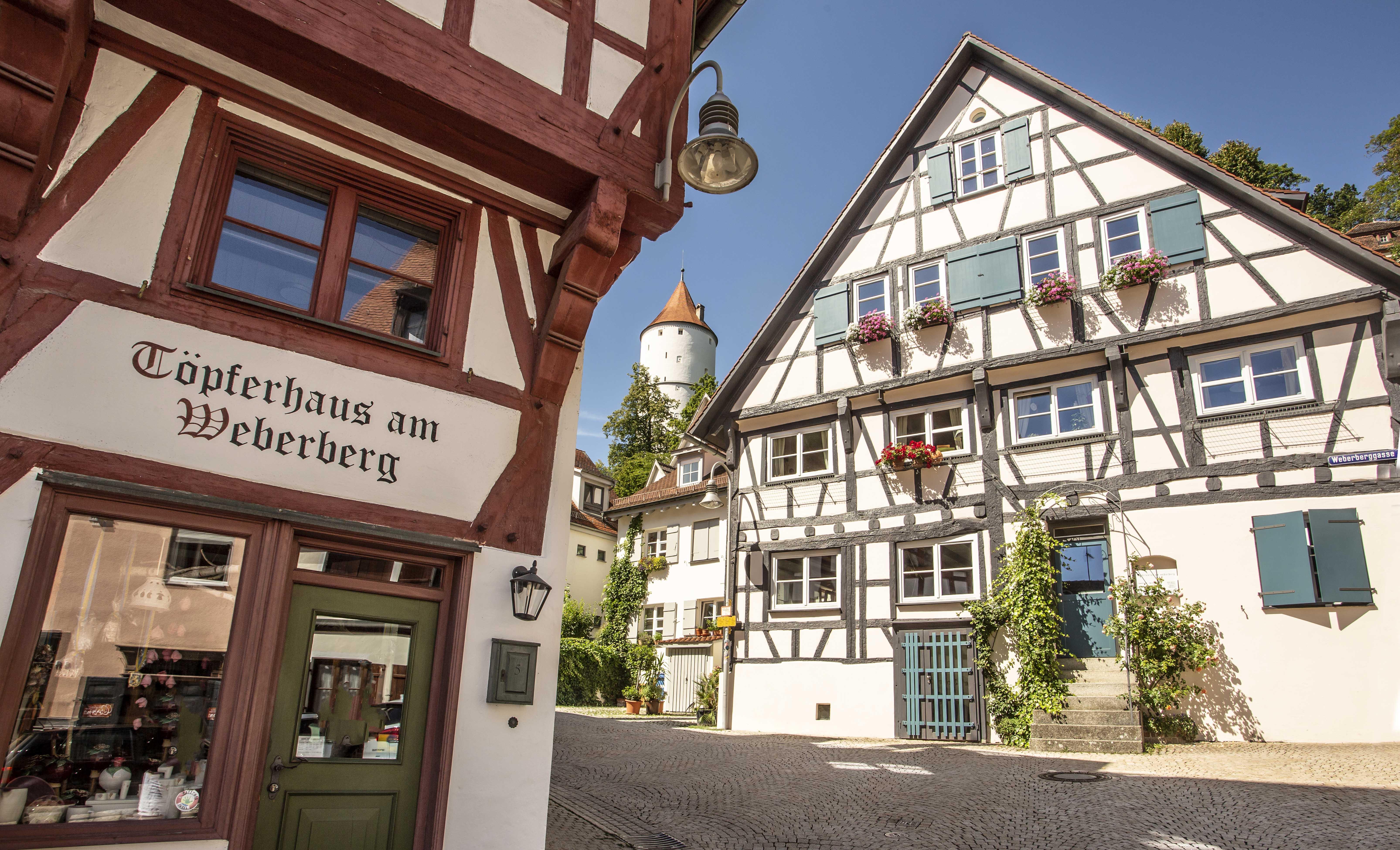 Weberberg mit Weissem Turm, Biberach an der Riss