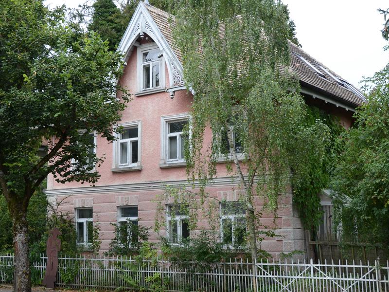 Wohnhaus des Künstlers Sepp Mahler