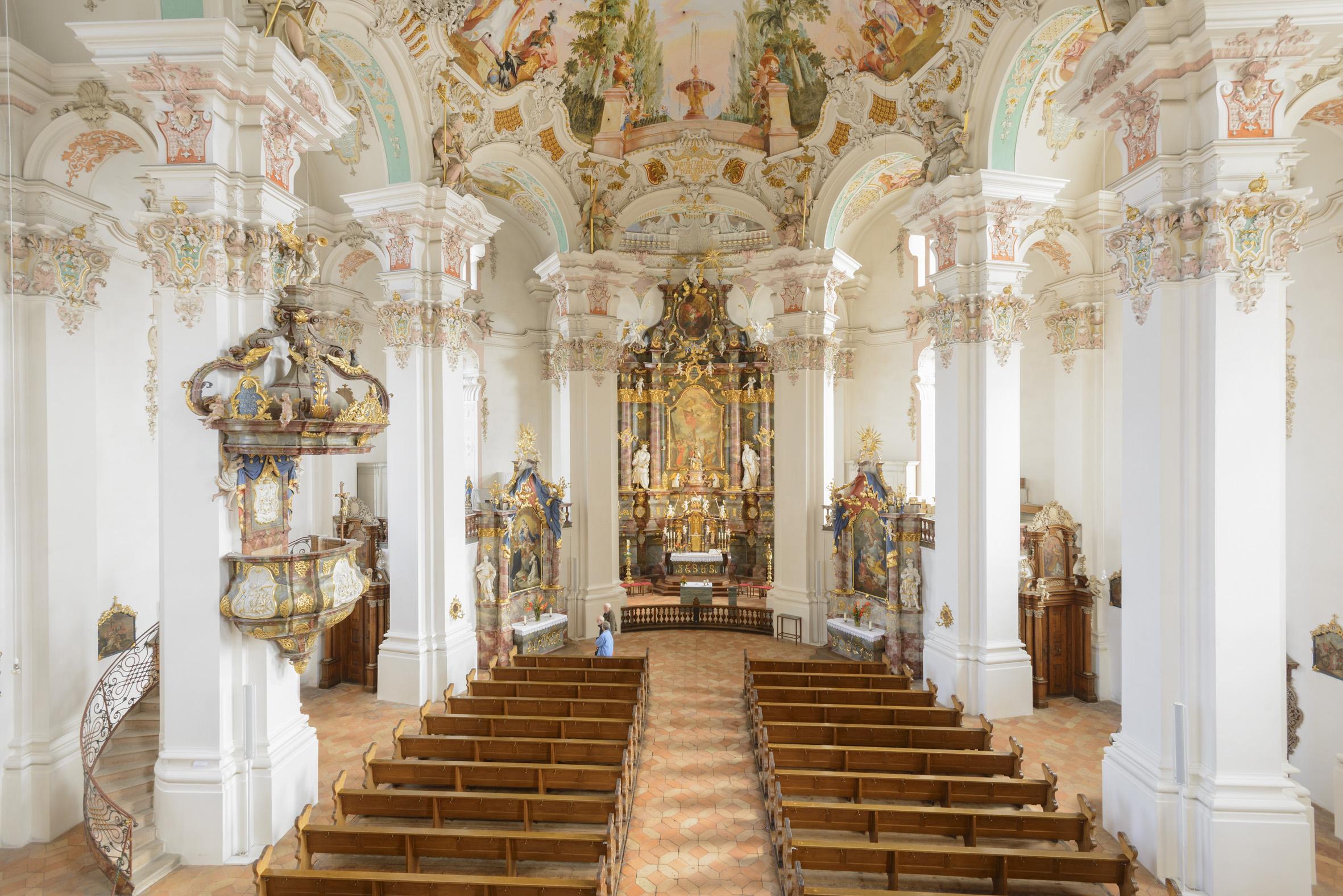 Wallfahrtskirche Steinhausen ©Oberschwaben Tourismus GmbH, Frank Müller