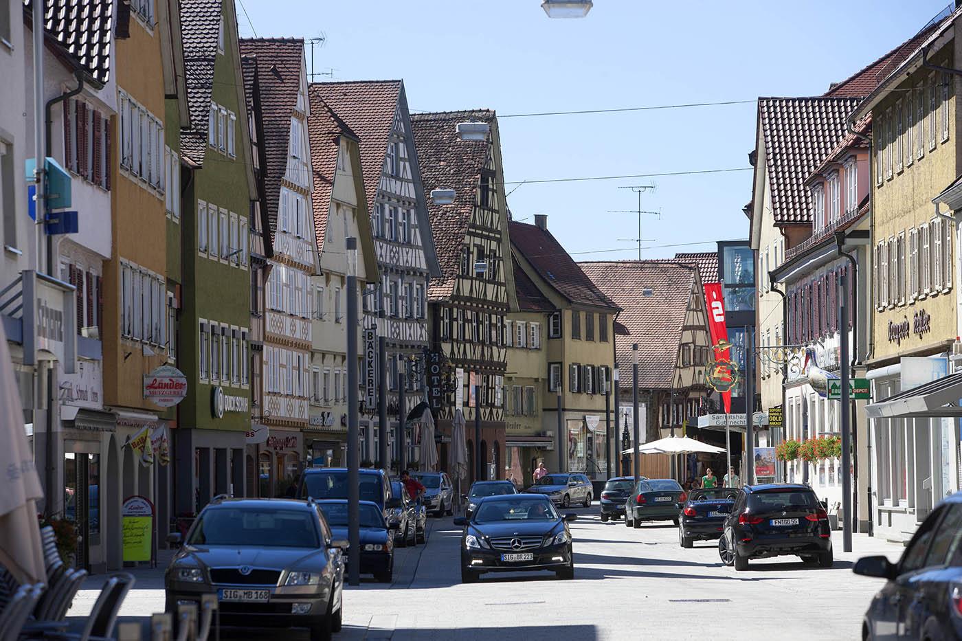 Hauptstraße Mengen