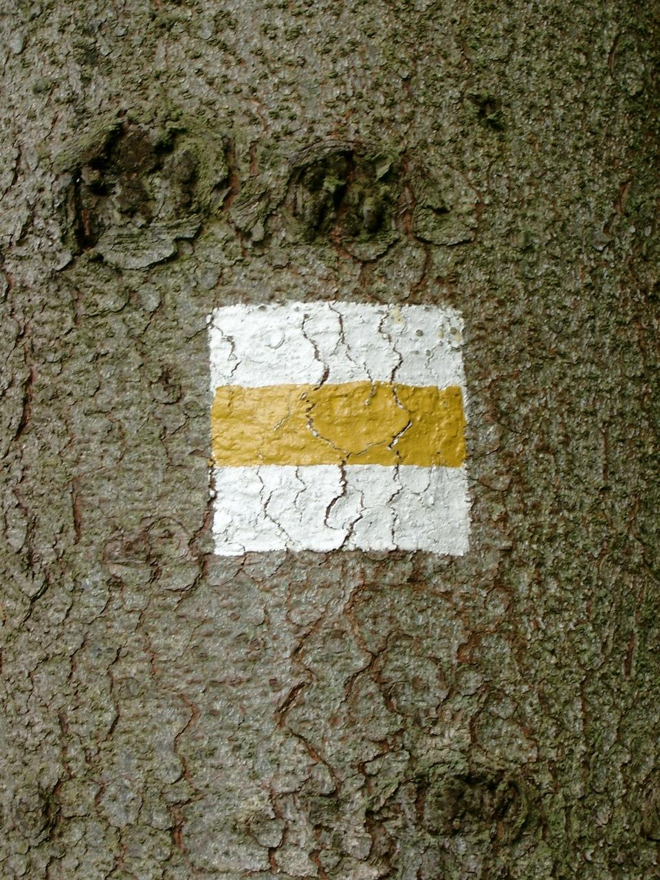 Markierungszeichen Försterweg