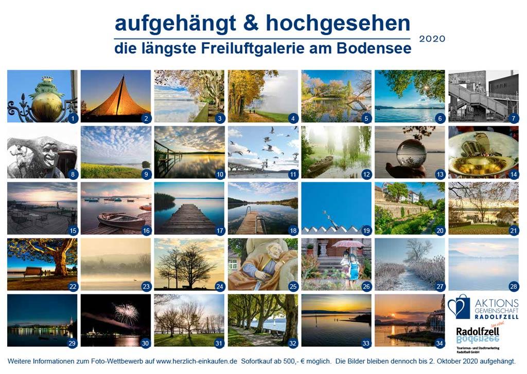 Freiluftgalerie Radolfzell Collage 2020
