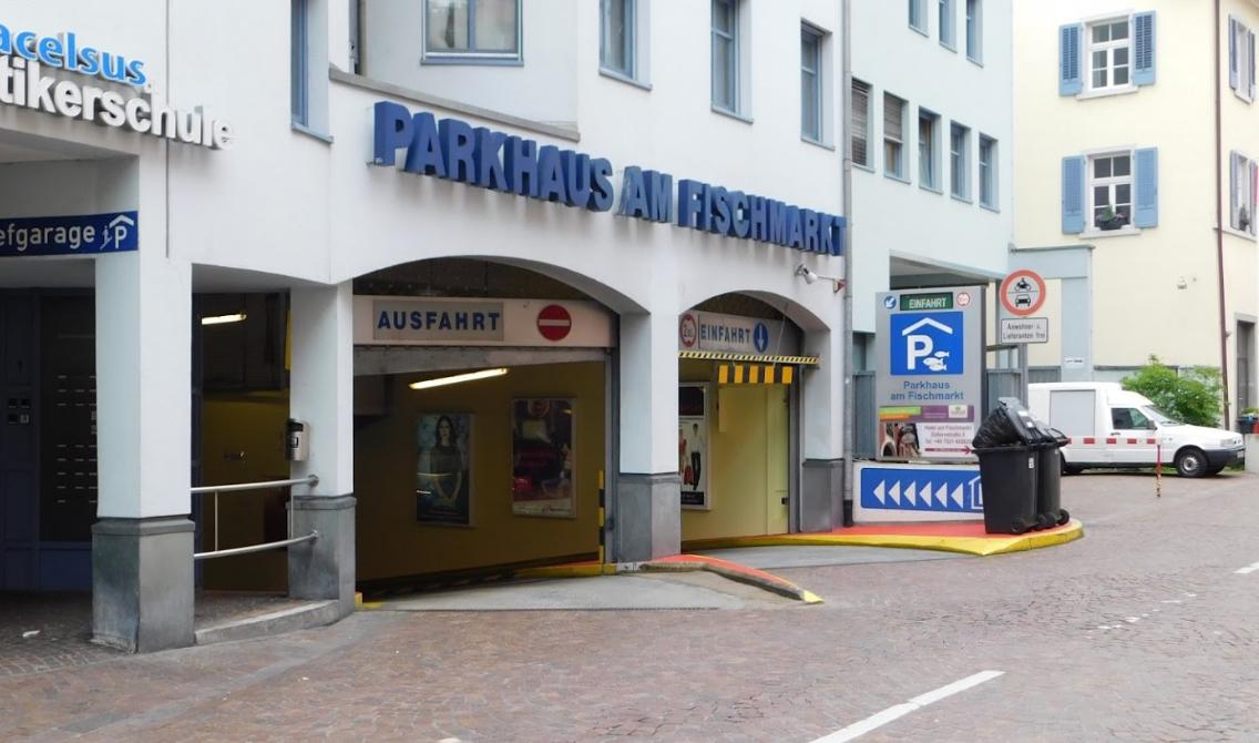 Parkhaus Fischmarkt