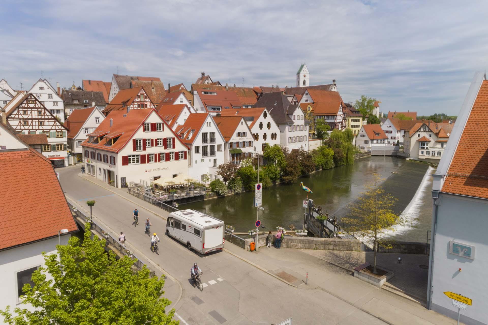 Zwischenstopp in Riedlingen