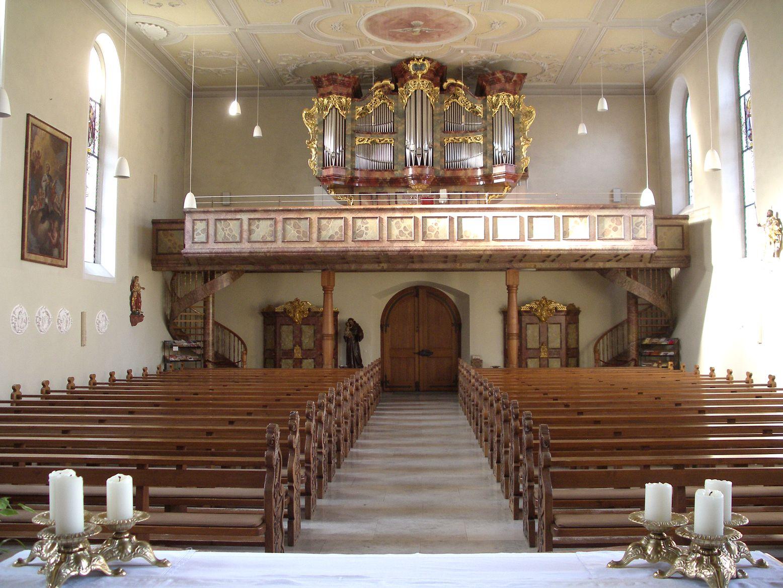 Katholische Pfarrkirche Str. Hippolyt und Verena