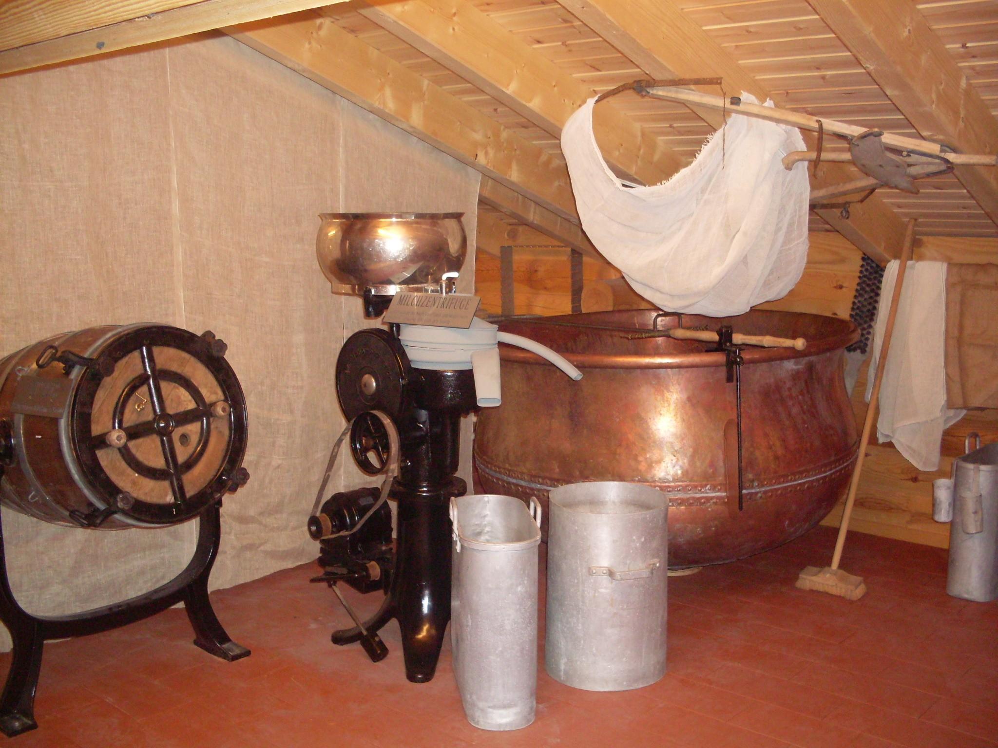 Kaesereimuseum Milchzentrifuge